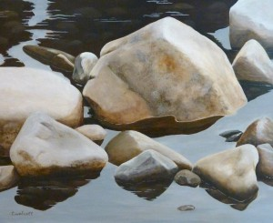 BRAGG CREEK RIVER ROCKS: Private Collection